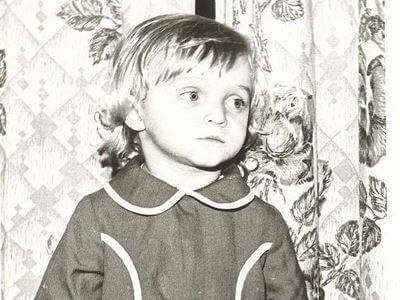 Такой Наташа была в детстве