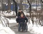 Із настанням зими люди з обмеженими можливостями просто бояться виходити на вулицю (ВІДЕО) ІВАН МАРУСЕВИЧ МОЖЛИВОСТЯМИ ОБМЕЖЕНИМИ