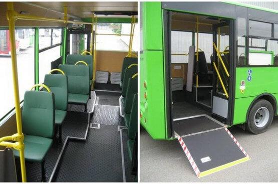 В Україні робитимуть автобуси, доступні для інвалідів (ФОТО). автобус, громадський транспорт, доступність, інвалідний візок