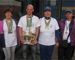 Майже 250 медалей привезли спортсмени-інваліди Харківщини з всеукраїнських змагань. рекреаційних іграх