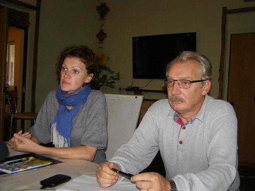 Ольга Дутова и Александр Родионов