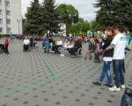 Інваліди-візочники перевірили місто Бердичів на доступність ІНВАЛІДИ-ВІЗОЧНИКИ