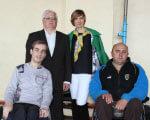 Анжеліка Лабунська надала спортивну базу для тренування збірної команди по регбі на візках РЕГБІ НА ВІЗКАХ