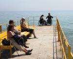 В Одессе открыт пляжный сезон для лиц с ограниченными возможностями ОГРАНИЧЕННЫМИ ВОЗМОЖНОСТЯМИ