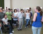 Днепропетровские дети-инвалиды посетили Художественный музей ДЕТИ