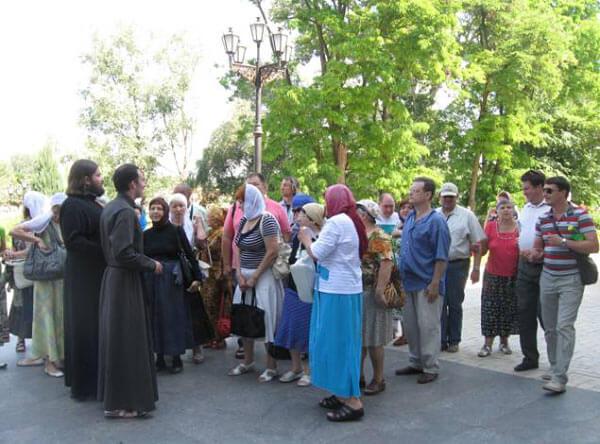 Паломничество в Святогорск