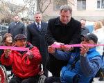 У Луцьку відкрили автоклуб для людей з особливими потребами ОСОБЛИВИМИ ПОТРЕБАМИ