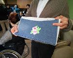 У Бердичеві люди з інвалідністю створюють вироби із вишивками ІНВАЛІДНІСТЮ