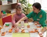 У Тернополі створили першу і єдину спеціальну групу дитсадка для дітей, які не бачать ДІТЕЙ