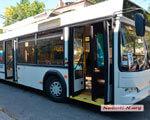 Для пассажиров со слабым зрением в Николаеве пустили на маршрут первый «говорящий» троллейбус (ВИДЕО) ТРОЛЛЕЙБУС