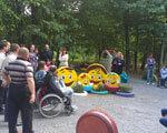 У вінницькому парку Дружби народів відкрили дитячий інклюзивний майданчик МАЙДАНЧИК