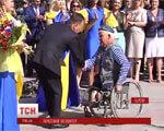 У Херсоні волонтера-інваліда визнали почесним громадянином міста (ВІДЕО) ГРИГОРІЙ