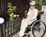 Кутюрье – на инвалидной коляске ИНВАЛИДНОЙ КОЛЯСКЕ