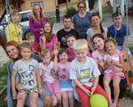 Боди-арт, волонтеры и отдых для родителей: организатор тернопольского летнего лагеря рассказала об его особенностях АУТИЗМОМ