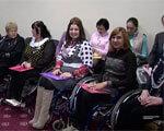 У Чернівцях зібралися жінки у візках з усієї України (ВІДЕО) ІНВАЛІДНІСТЮ