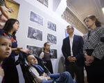Марина Порошенко взяла участь у відкритті соціальної фотовиставки «Я бачу світ серцем» ФОТОВИСТАВКИ