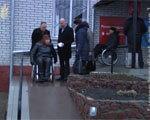 На Житомирщині перевірили доступність соціальних об'єктів (ВІДЕО) ПАНДУС