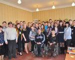 В Краматорске инвалиды впервые встречались с детьми в обычной школе ИНВАЛИДНОСТЬЮ