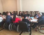 Валерій Сушкевич зустрівся з представниками громадськості щодо стану забезпечення прав внутрішньо переміщених осіб з інвалідністю ВАЛЕРИЙ СУШКЕВИЧ ІНВАЛІДНІСТЮ