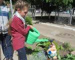 Вихованці міського центру соціальної реабілітації дітей-інвалідів працюють з рослинами та спілкуються з природою ДІТЕЙ-ІНВАЛІДІВ РЕАБІЛІТАЦІЇ