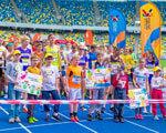 Діти з аутизмом вперше взяли участь в Київському ЄвроМарафоні АУТИЗМОМ