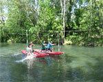 Інваліди Дніпродзержинська змагалися з техніки водного туризму