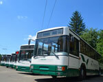 Майже півсотні луцьких тролейбусів обладнали для незрячих пасажирів