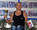 Артур Радковский привез в Бахмут серебро международного марафона