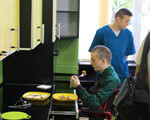Жити повноцінним життям: у Львівському госпіталі відкрили кімнату ерготерапії та візкову майстерню для поранених бійців АТО