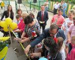 Відкриття оновленого приміщення центру соціальної реабілітації дітей – інвалідів