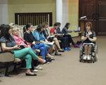 На засіданні обласного комітету доступності обговорювали питання комфортного пересування містом людей з обмеженими можливостями