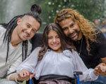 Мечты сбываются: девушка-инвалид из Хмельницкой области станцевала с хореографом из Венесуэлы Амадором Лопесом