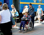 Придніпровська залізниця продовжує пристосовувати інфраструктуру своїх вокзалів до потреб пасажирів з обмеженими фізичними можливостями