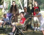 У Кіровограді відкрився другий літній табір для дітей з особливими потребами (ФОТО)
