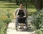 В Полтаві оштрафували жінку-інваліда на 7 тисяч грн (ВІДЕО)