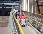 Железнодорожный вокзал приспособлен для всех