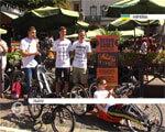 20-річний мешканець Львівщини, хворий на ДЦП, вирушив до Лісабона на триколісному велосипеді (ВІДЕО)