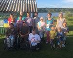 На Шосткинщине впервые прошел туристический слет для людей с ограниченными физическими возможностями (ФОТО)