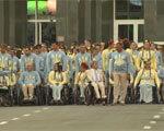 Українських спортсменів урочисто провели на Паралімпіаду в Ріо (ВІДЕО) ПАРАЛІМПІЙЦІВ