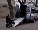 В Одессе работает служба такси для инвалидов ИНВАЛИДОВ