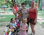 В Ужгороді мама особливої дитини долучає людей до боротьби з дискримінацією ДЦП