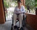 Полтавський хепі енд: оштрафована жінка з інвалідністю узаконила свій пандус