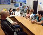 У Вітовському районному центрі зайнятості проведено профконсультаційний захід для осіб з обмеженими фізичними можливостями