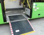 Волинь перша запустить приміський автобус для інвалідів-візочників
