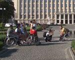 Чи доступний Ужгород для людей на візках? (ВІДЕО) ДОСТУПНІСТЬ