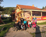 Закарпатські інваліди зайняли третє місце на міжнародному фестивалі в Словаччині (ФОТО)