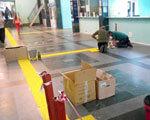 На Южном вокзале появится разметка для слабовидящих