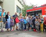 Пресс-релиз – Пожарные Киева учили безопасности детей с аутизмом