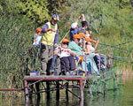 «Острів надії» додає сил рибалкам у візках
