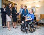Усиновлений у США українець заснував спортивну команду для дітей з інвалідністю